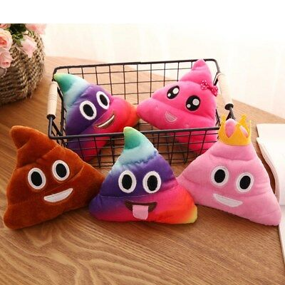 Poop Poo Family Emoticon Pillow Stuffed Plush Toy Soft Cushion Doll HOT
