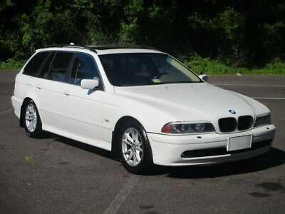 2003 BMW 5-Series 525I STATION WAGON! SUNROOF! LOADED! ICE COLD A/C! 2003 BMW 525ITA NO RESERVE LEATHER! CLEAN! RUNS DRIVES GREAT!