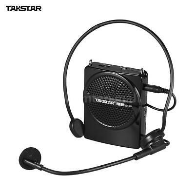 TAKSTAR Mini Voice Amplifier AUX Input w/ Wired Microphone for Tour Guides H5B4