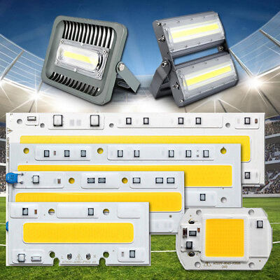 20W 30W 50W 70W 100W 150W High Power Flood Light COB LED Chip Bulb Warm/White