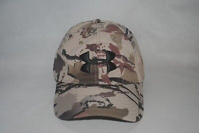 Under Armour UA Camo Stretch Fit Cap Men s Ridge Reaper Barren Baseball Hat  L XL 61b69c2394b