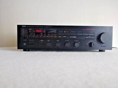 Vintage Yamaha Natural Sound Reciever RX-500U Stereo AM/FM Tuner/Amplifier Works