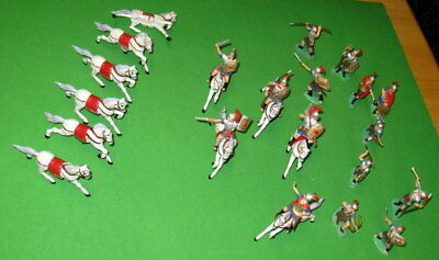 Huge Lot Of Vintage Reamsa Roman Infantry And Cavalry.......