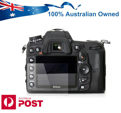 9H Pro Tempered Glass Screen Protector for Nikon D7000 DSLR Camera AUS