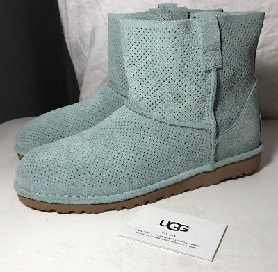114fa140c24 WOMEN'S SHOES UGG Unlined Classic Mini Perf Suede Boots 1016852 New ...