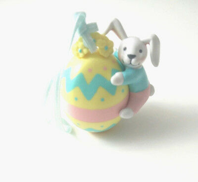 """Easter Ornament Avon Busy Bunny Easter Ornament """"Bunny with Egg"""""""