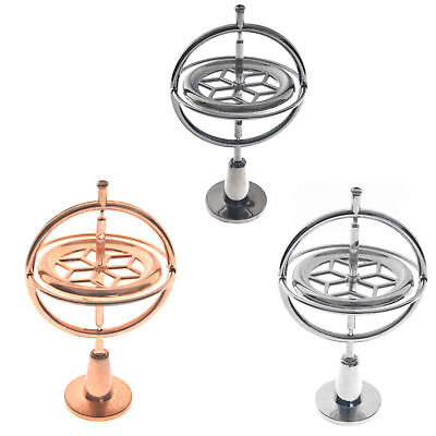 Metal Gyroscope Spinner Gyro Science Educational Learning Balance Kids Toys New