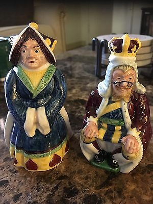 1974 Alice In Wonderland Beswick Royal Doulton King & Queen Set! Made In England