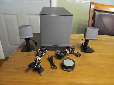 Bose Companion 3 Series II Multimedia  Speaker System EXCELLENT CONDITION!