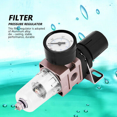 AW2000-02 Air Filter Pneumatic Regulator Oil Water Seperator With Gauge Durable