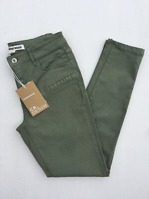 Country Road   Side Pocket Sateen Jean Cactus Green   Size: 6,8,10   $119