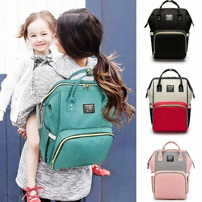 Mommy Maternity Diaper Bags Large Capacity Nursing Baby Care Travel Backpack