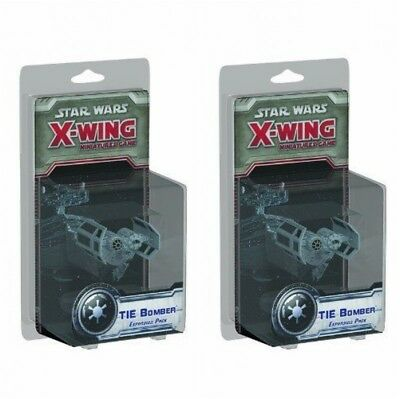 Star Wars - X-Wing Miniatures Game - TIE Bomber Expansion Pack x 2