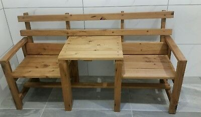 Childrens Seat Pine Jack and Jill new