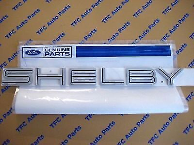 Ford Mustang Shelby GT500 Rear Emblem Nameplate Badge Genuine OEM Ford 2007-2009