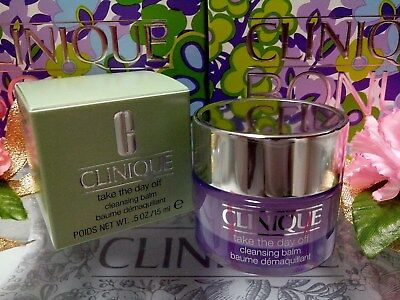 """Clinique Take The Day Off Cleansing Balm ☾0.5oz/15ml☽ BOXED """"FREE POST"""" W/ Track"""