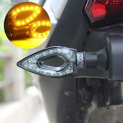 Turn Signal Light Motorcycle LED Black Motorbike Refit Amber Light Durable 4793