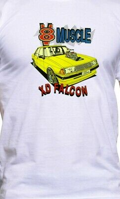 CLASSIC 73-76 XB GT//S FALCON COUPE ILLUSTRATED T-SHIRT MUSCLE RETRO SPORT CAR