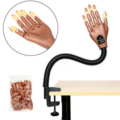 Practice Nail hand Learning Model Fake Hand Adjustable Size Manicure Sweet Gift