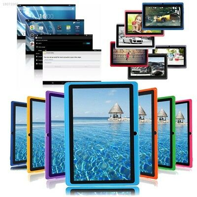 7'' Inch 16GB A33 Quad Core Dual Camera Android Tablet WI-FI Bluetooth EU BD1F