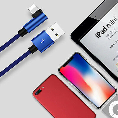 NEWEST USB Nylon Cable Cord Charger for Apple iPhone X 8 7 6 5 5s iPad Pro Mini
