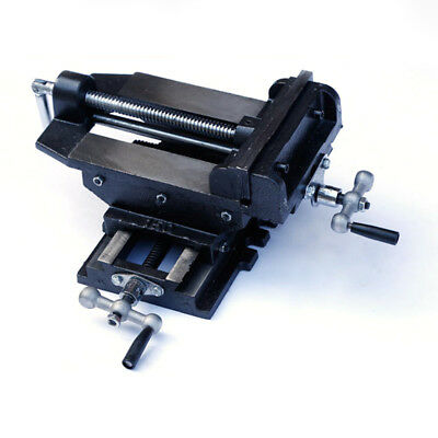 2Way Cross Slide Vise Drill Press X-Y Compound Clamp Metal Milling Machine Tool~