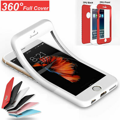 360° Full Cover Protect Shockproof Case Cover For iPhone 6S 7 8 Plus X XS MAX XR