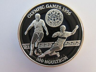 300 Ngultrum 1993 Bhutan  Olympische Spiele Olympia Silber
