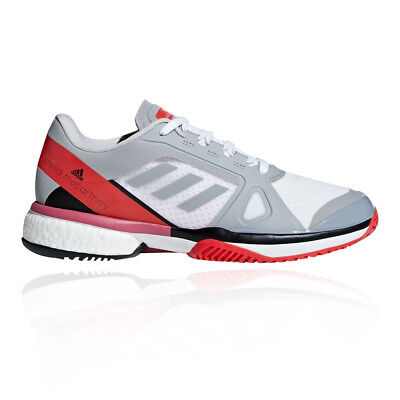 adidas Womens aSMC Barricade Boost Tennis Shoes Grey Sports Breathable  Trainers d1efc328e