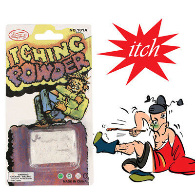 Itch Itching Powder Packages ~ Prank Joke Trick Gag Funny Joke Trick Magic C045