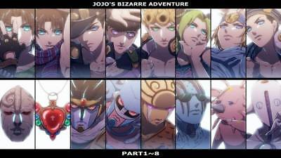 "DM01244 JoJo s Bizarre Adventure - Hot Japan Anime Action 24""x14"" Poster"