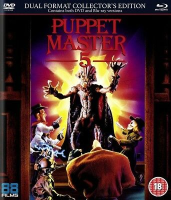 Puppet Master 5 - The Final Chapter Blu-Ray + DVD