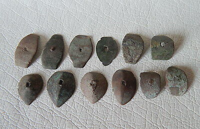 Ancient bronze artifacts 12psc.