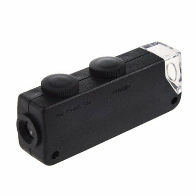 Portable 60x to 100x Zoom LED Microscope Magnifier Magnifying Loupe Glass L6Z2