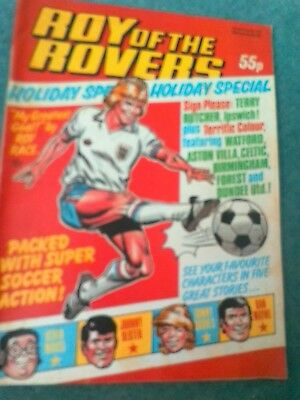 Roy of the rovers comics holiday special 1983