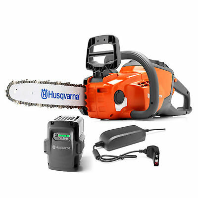 Husqvarna 120i 14-in. Cordless Electric Chainsaw w/ (Li-ion) Battery & Charger
