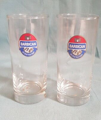 Pair Of Strongbow Cider One Pint Glasses Crown Marked Very Rare Glass Used 2