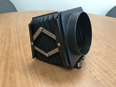 Sinar / Horseman 4x5 View Camera Compendium Bellows Lens Shade - Excellent Cond