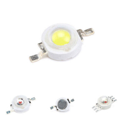 1W/3W High Power SMD LED Bulb Lamp Chip Diodes White/Red/Blue/Yellow/RGB IL