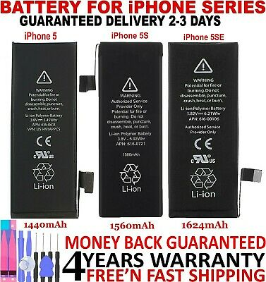 LONGLIFE Brand New Replacement Battery compatible for Iphone 5 5C 5S 5SE