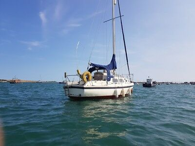 23ft Westerly pageant sailing yacht