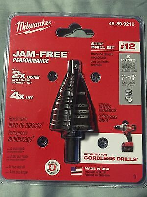 Milwaukee 48-89-9212 Step Drill Bit