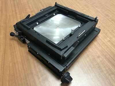 SINAR REAR 4x5 FRAME with ground glass: SINAR P, Spring Back - Complete