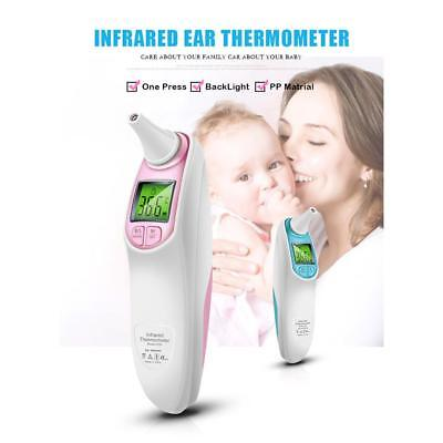 Baby Digital Infrared Dual Mode Forehead Ear Adult Family Body Care Thermometer