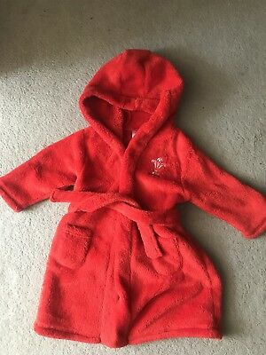 WRU Baby Dressing Gown 9-12months