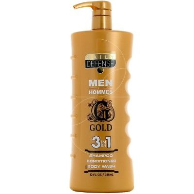 Daily defense Men - Gel Douche 3 en 1 Gold - 946ml
