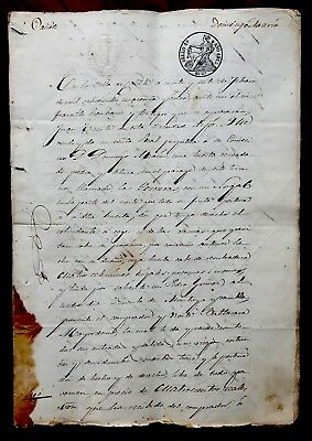 1845 Signed and Handwritten Document