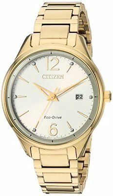 Citizen Watch Company Womens Eco-Drive Quartz Stainless Steel Dress