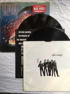 Vinyl LP Journey Escape - Infinity 2LP 1988 + Innerbag
