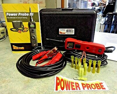 Power Probe Iii Pp319Ftcred Automotive Digital Circuit Tester $New/other$